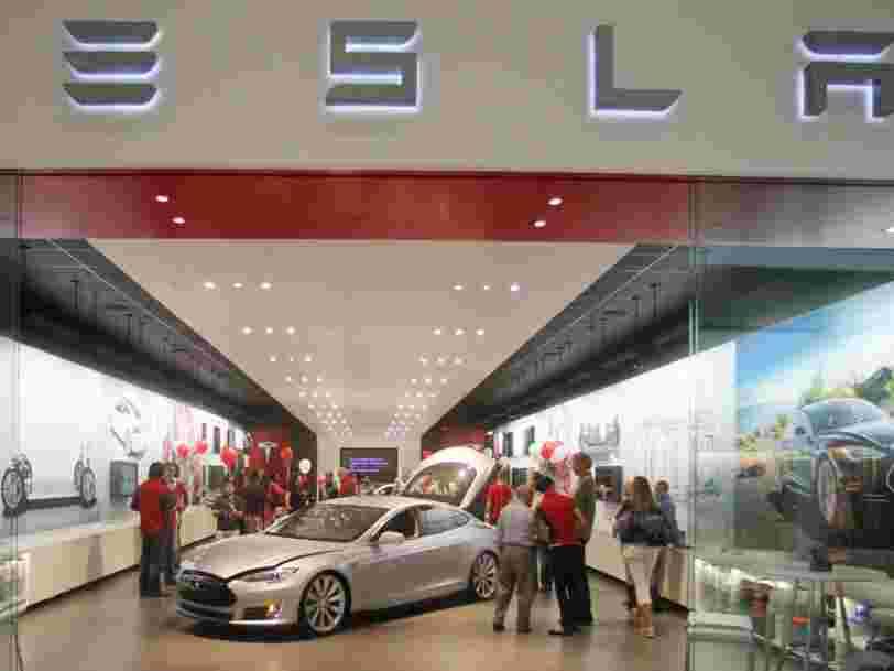 Tesla réduit le prix de ses voitures aux Etats-Unis