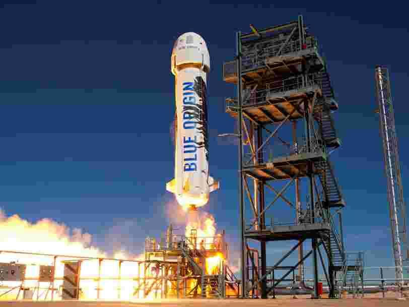 La société Blue Origin créée par Jeff Bezos s'allie avec Eutelsat pour développer ses lanceurs spatiaux réutilisables