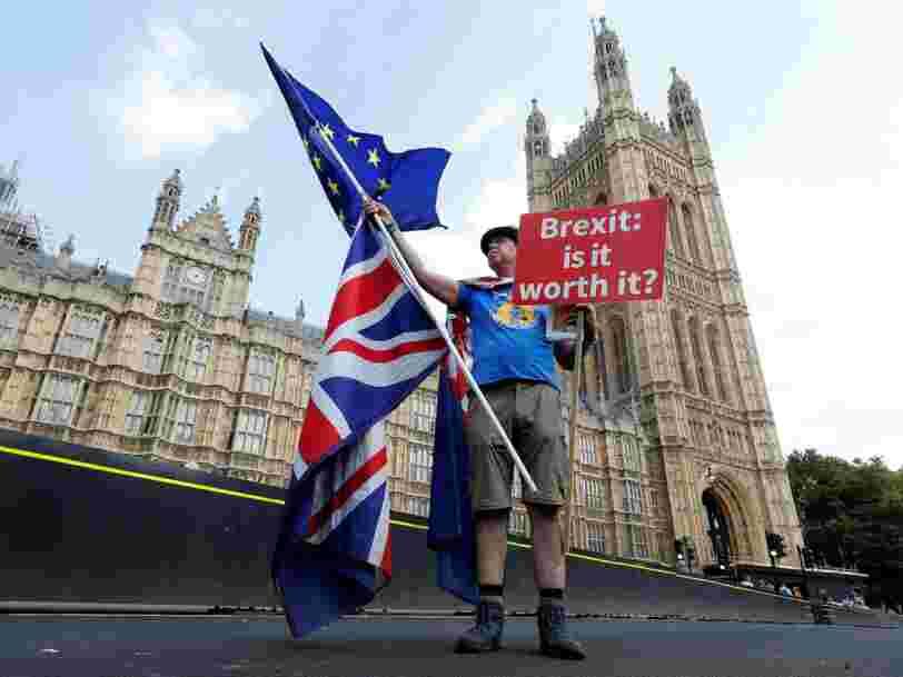 Un Brexit 'dur' risque de faire grimper le prix du pain, du lait et des crèmes glacées au Royaume-Uni