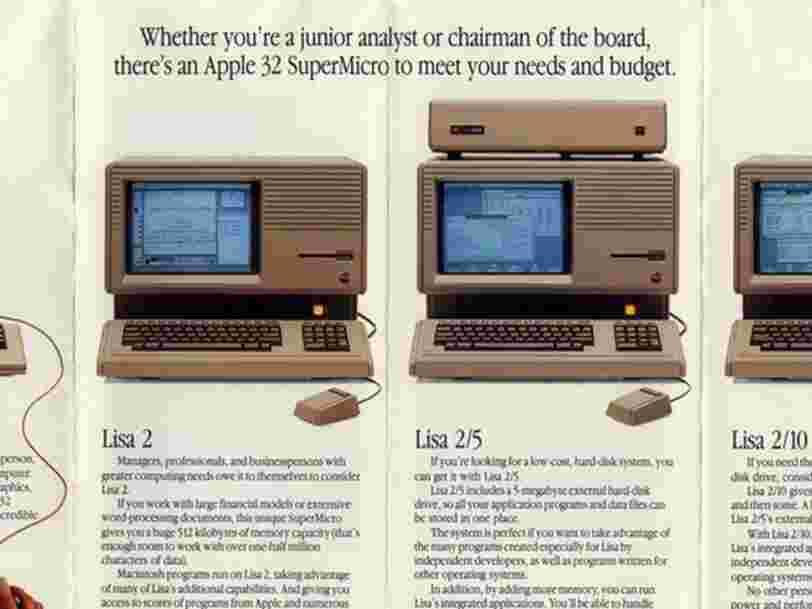 Ces vieilles publicités Apple montrent à quel point l'entreprise et ses produits ont changé