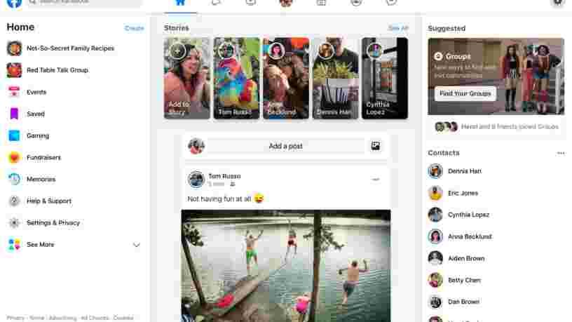 Design, Instagram, Messenger, groupes... Facebook apporte des changements importants et tente de faire oublier deux années de scandales