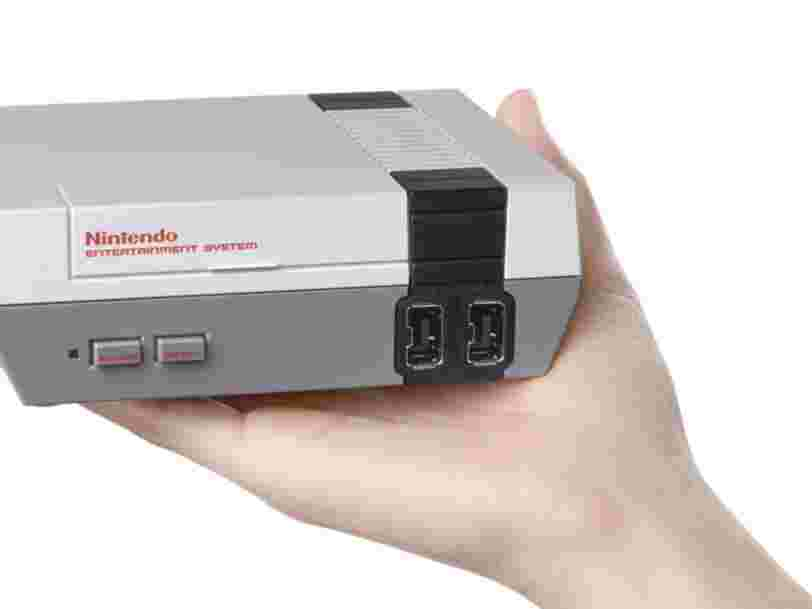 Pour la première fois en 30 ans, la NES de Nintendo a été la console la plus vendue, surpassant la PlayStation 4 et la Xbox One