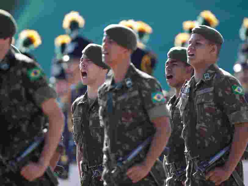 Les 20 pays qui ont réalisé les plus importantes dépenses militaires dans le monde l'an dernier
