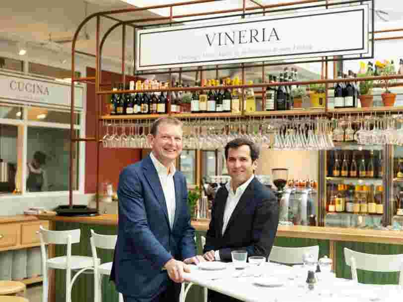 Ce que vous trouverez chez 'Eataly', l'épicerie italienne géante qui ouvre à Paris
