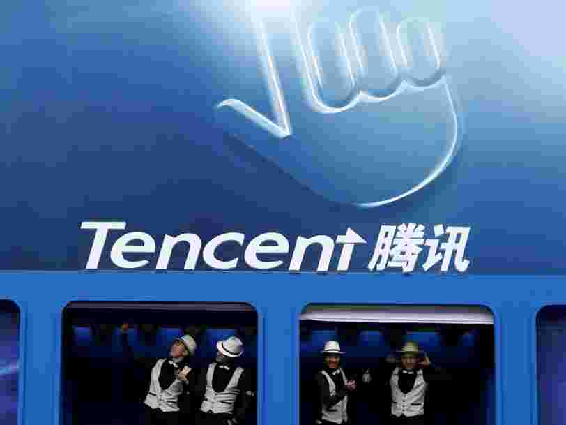 Le géant chinois Tencent prend une participation de 12% dans Snap