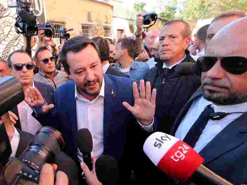 La tension monte d'un cran entre la Commission européenne et l'Italie en raison du 'déficit excessif' du pays — mais les marchés réagissent bien cette fois-ci