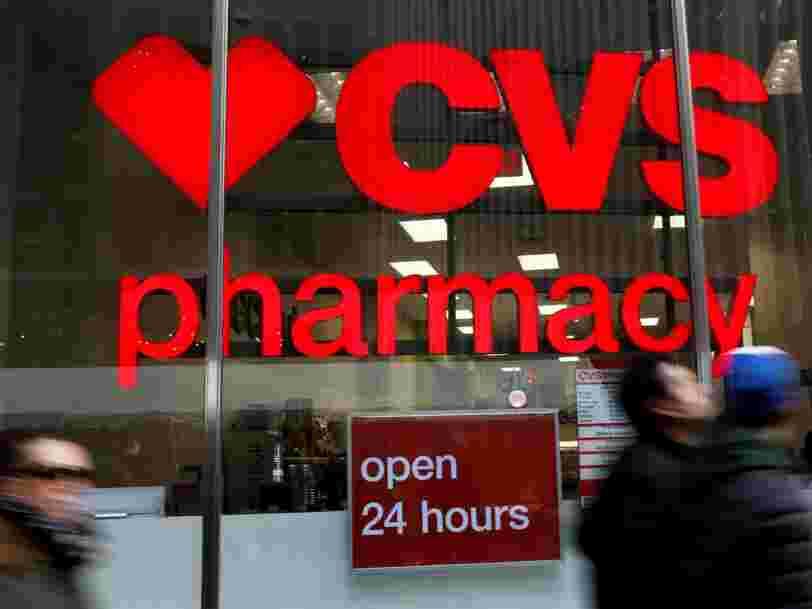 Les pharmacies américaines CVS réalisent une méga-fusion à 69Mds$ pour se préparer à l'arrivée d'Amazon dans le secteur de la santé