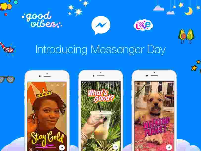 Facebook veut que vous partagiez votre journée dans Messenger — et c'est complètement oppressant