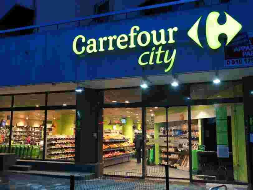 Carrefour a trouvé un débouché prometteur pour certains magasins qu'il n'a pas réussi à vendre — et Paris va en profiter en premier
