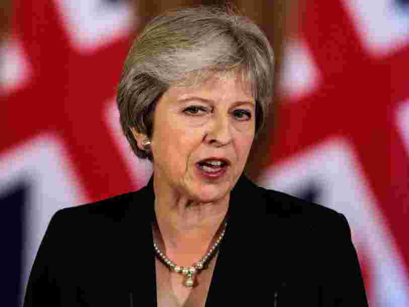 Theresa May dit que les négociations sur le Brexit sont 'dans l'impasse' après le rejet de ses propositions par les Européens