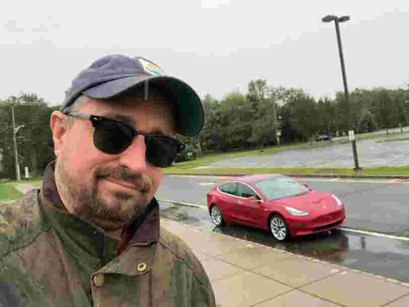 J'ai testé la Tesla Model 3 qui débarque en France ce jeudi, voici mon verdict