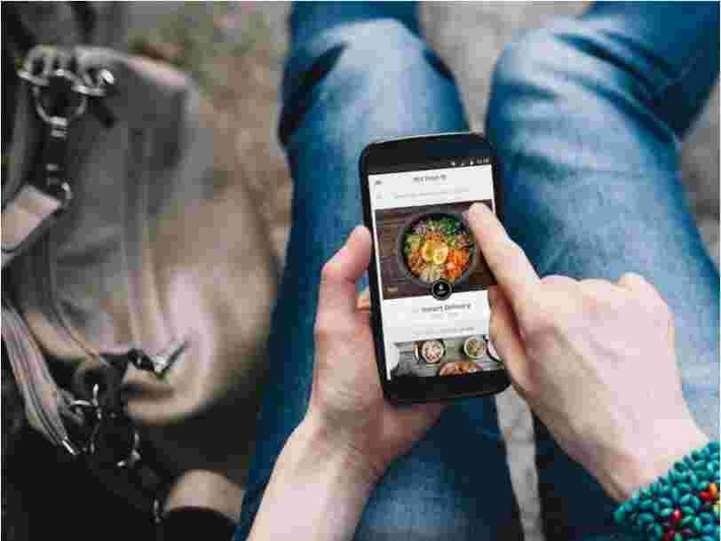 Uber Eats teste une nouvelle option : commander son plat sur l'appli et le manger dans le restaurant