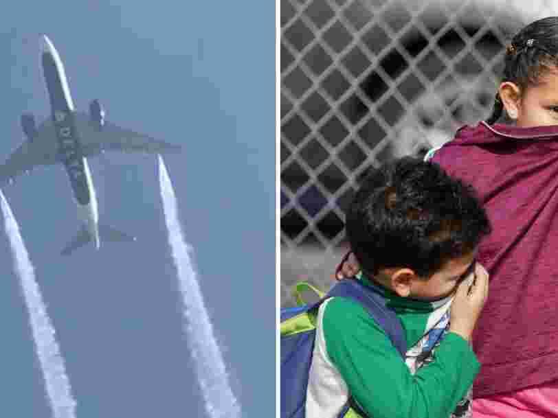Voici pourquoi les avions larguent parfois du carburant en vol, comme le Boeing au-dessus d'une école à Los Angeles