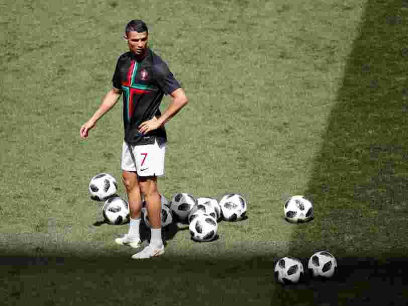 Voici tout ce que fait Cristiano Ronaldo avant et après un match important