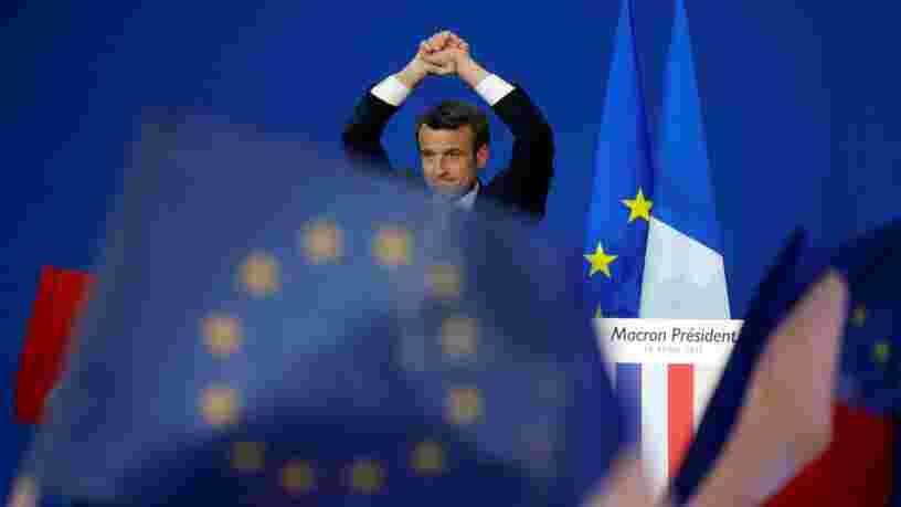 Les marchés anticipent déjà une victoire d'Emmanuel Macron au second tour de la présidentielle