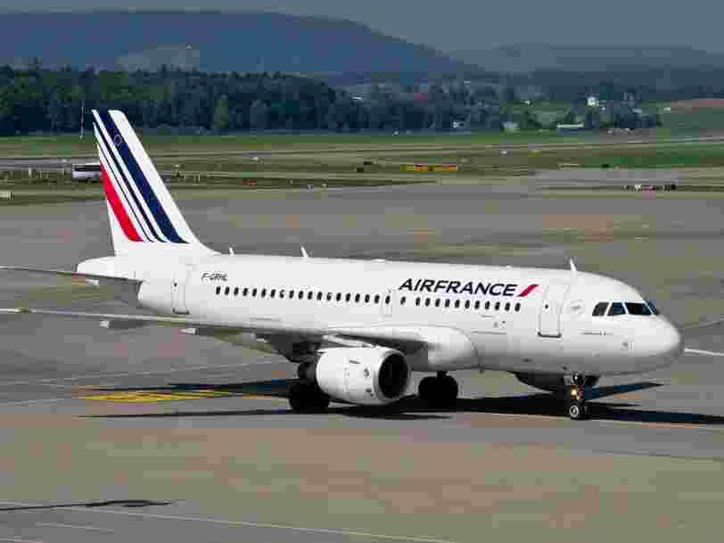 Coronavirus : Air France va permettre à ses clients d'annuler sans frais les vols prévus avant le 31 mai