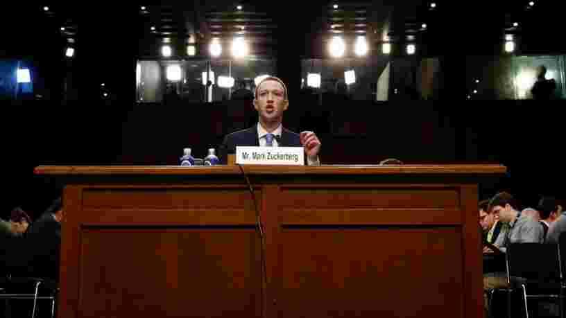 Facebook a détecté une campagne coordonnée pour influencer une nouvelle élection américaine en 2018