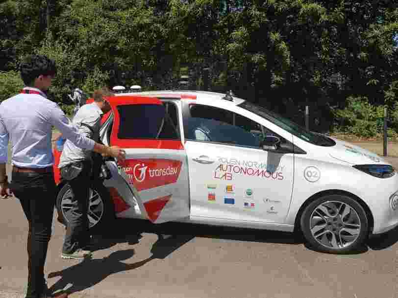 Les essais de voitures autonomes menés avec des habitants de Rouen sont en train de livrer des réponses sur ce qui se passera dans les véhicules de demain