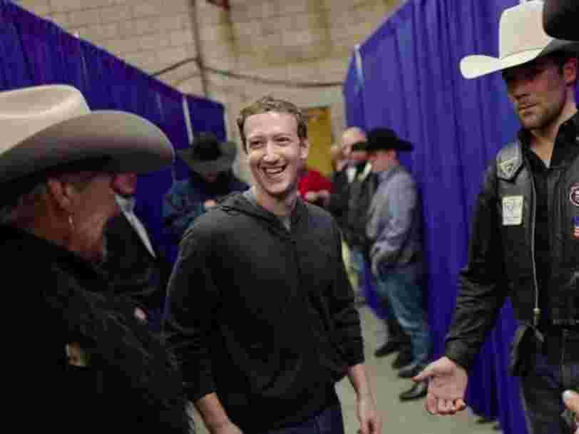 Facebook fait mieux qu'attendu au 4e trimestre