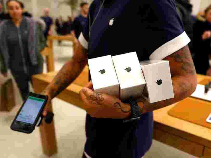 L'Italie ouvre à son tour une enquête contre Apple mais aussi contre Samsung pour 'obsolescence programmée'