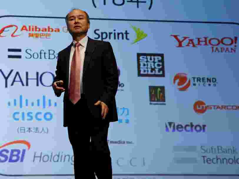 Le groupe japonais SoftBank fait une acquisition de 3,3 Mds$ pour renforcer son futur fonds de capital-investissement