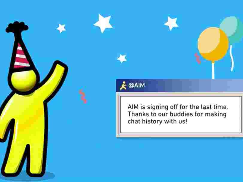 AOL ferme la messagerie instantanée AIM après 20 ans d'existence