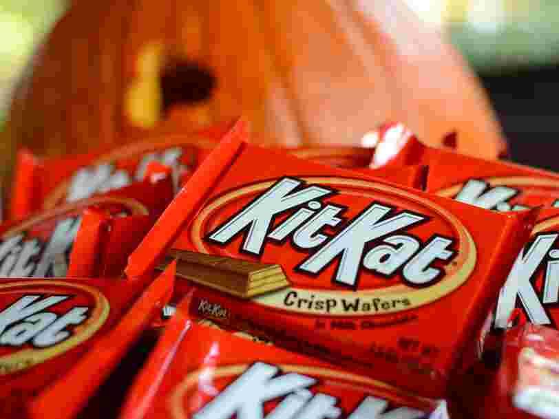 Nestlé a perdu le monopole sur la forme des Kit Kat après une décision de la cour européenne