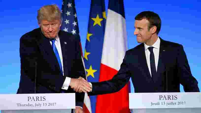 Donald Trump a effectué sa première visite officielle à Paris — voici comment s'est déroulé son séjour