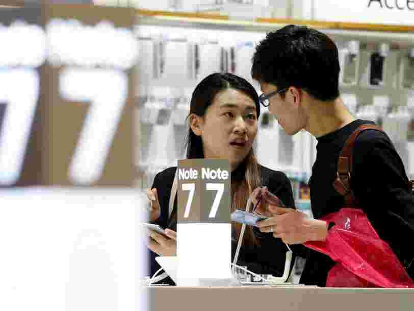 Les difficultés de Samsung sont source d'inquiètude pour l'économie coréenne toute entière