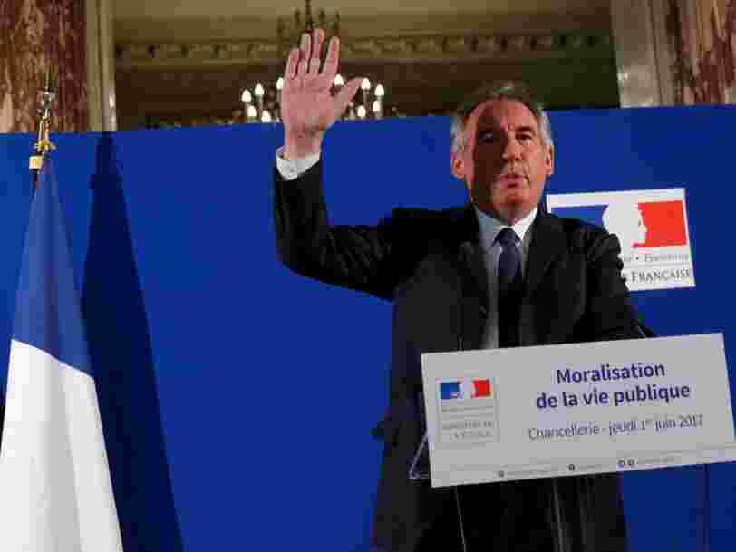 François Bayrou dit comment il va démasquer les lobbyistes cachés au sein du Parlement