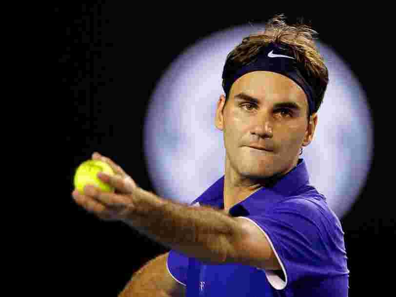 Roger Federer pourrait mettre fin à son contrat de 7,5M$ avec Nike — une somme qu'il pourrait tripler avec une marque moins connue