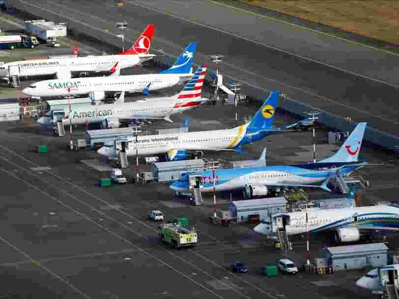 Boeing prévoit des centaines d'embauches pour préparer la livraison des 737 Max cloués au sol