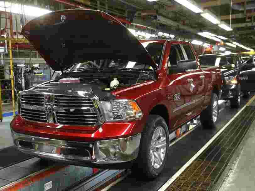 Fiat Chrysler va investir $1 milliard aux Etats-Unis et rapatrier la production de pickups actuellement fabriqués au Mexique