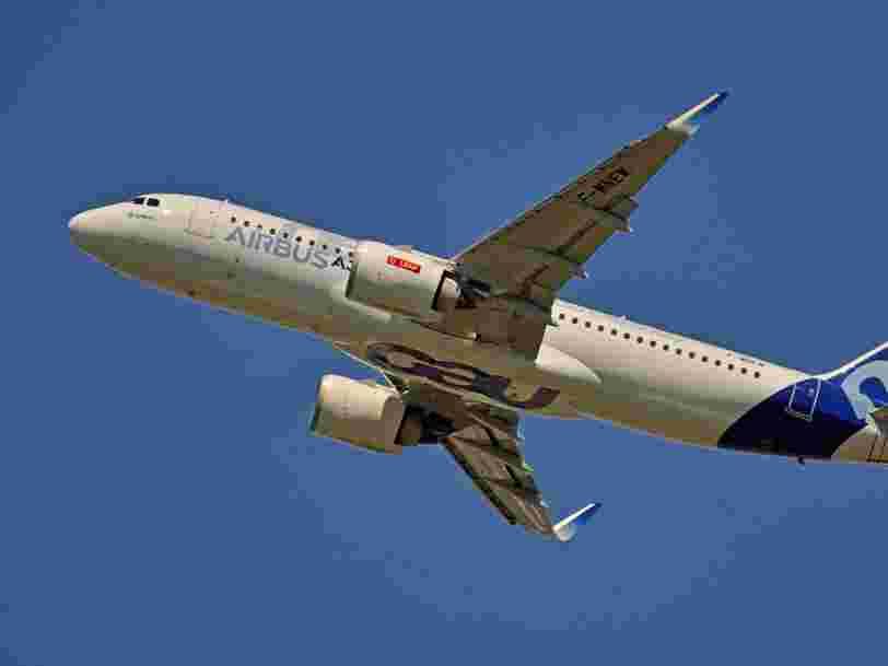 L'action Airbus subit des turbulences en Bourse après des rumeurs sur des difficultés de livraisons