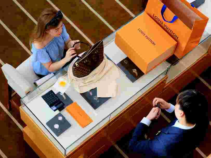 LVMH grimpe en Bourse après des bons résultats et entraîne des marques du luxe dans son sillage