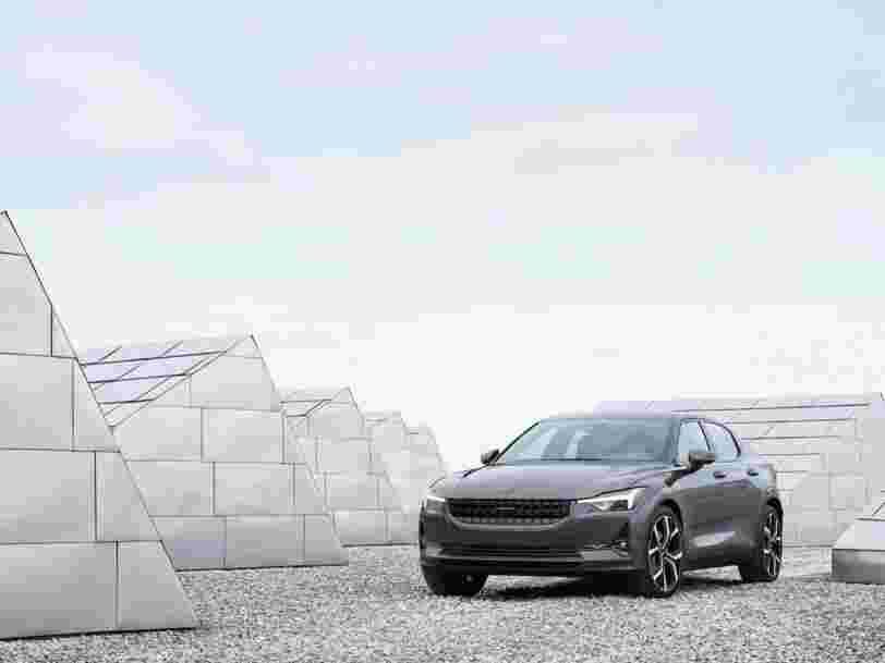 Volvo vient de dévoiler sa berline électrique rivale de la Model 3 de Tesla. Voici à quoi elle ressemble.