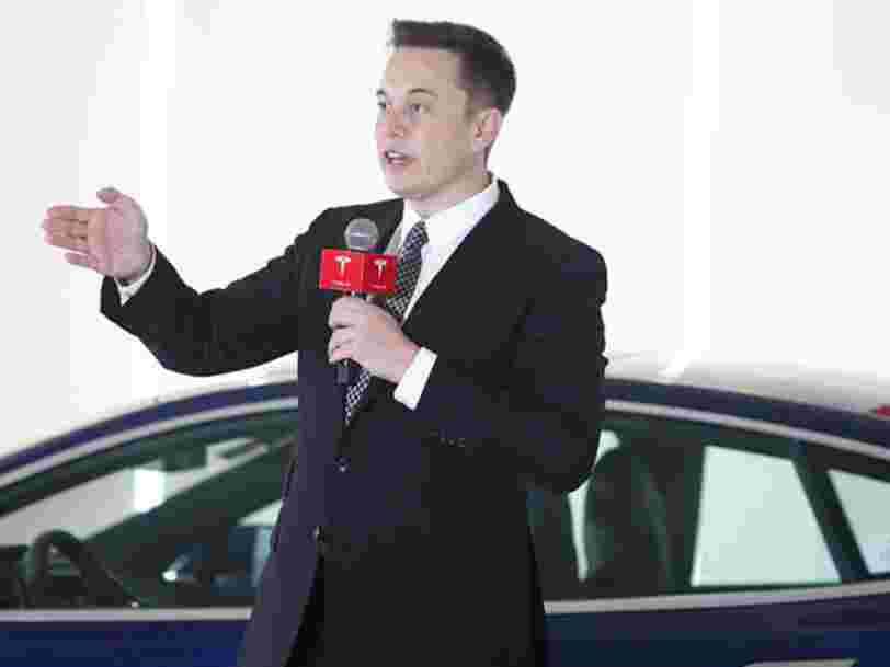 Elon Musk aurait dit aux employés de Tesla de simplement quitter les réunions ou raccrocher le téléphone si ce n'est pas productif
