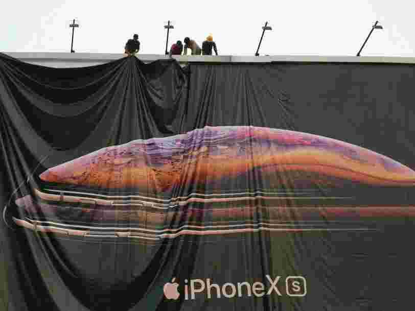 Apple avertit que son prochain chiffre d'affaires sera moins bon que prévu — son action s'écroule