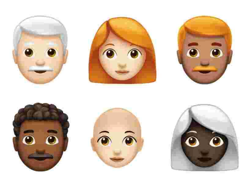 Voici un premier aperçu des nouveaux emoji de l'iPhone qui arriveront plus tard cette année