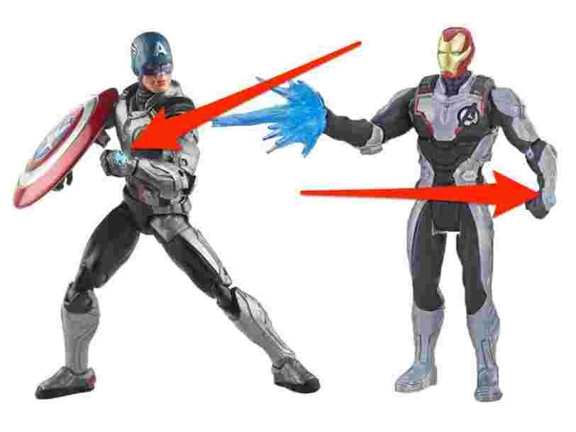 Les nouveaux jouets Marvel donnent des indices sur 'Avengers : Endgame'