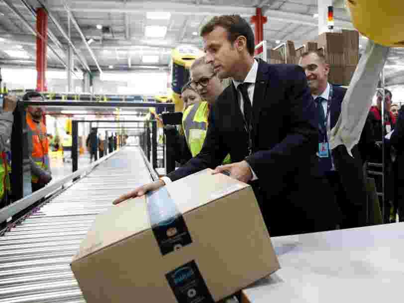 Le PIB de la France a progressé de 1,9% en 2017 — son niveau le plus élevé depuis 2011