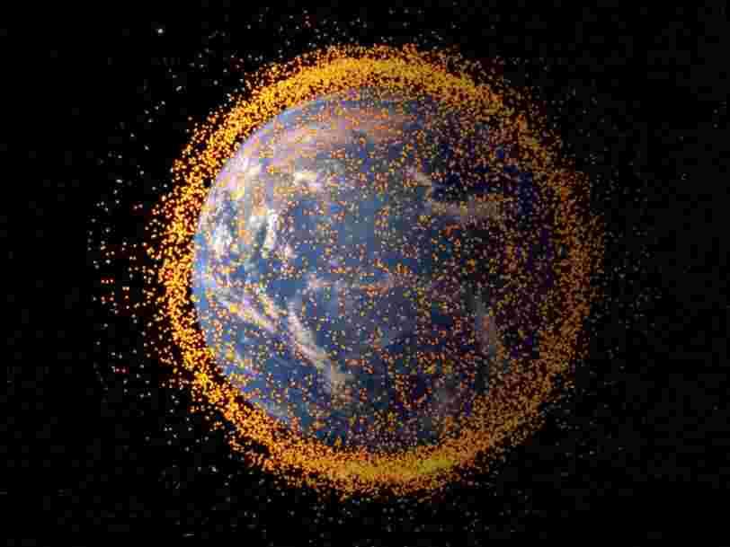 Le gouvernement américain a enregistré 308.984 potentielles collisions de débris spatiaux en 2017 — et cela pourrait empirer