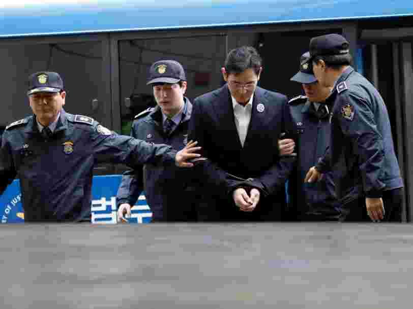 Voici comment le patron de Samsung a corrompu la présidente sud-coréenne selon le procureur