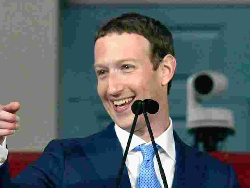 Mark Zuckerberg vient de dépasser Warren Buffett en tant que troisième personne la plus riche du monde