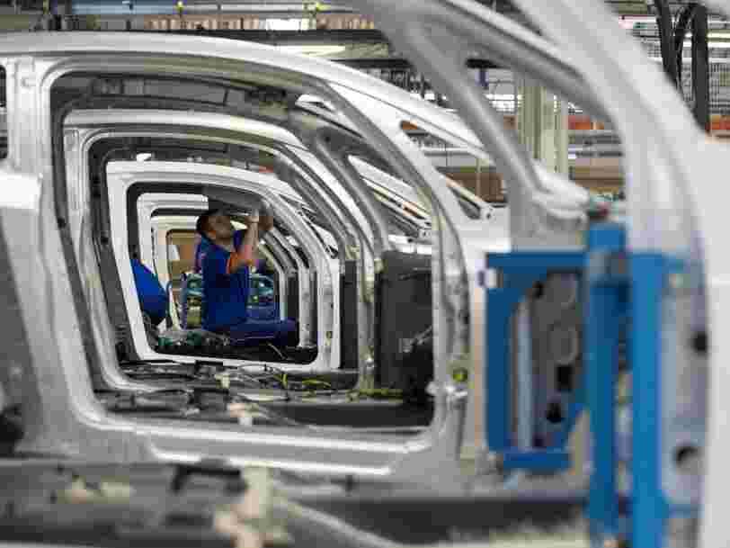 Après 7 mois de contraction, l'activité manufacturière est repartie en France au mois d'octobre