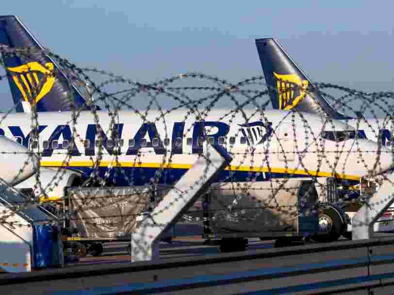 Une 3e grève consécutive chez Ryanair va perturber les déplacements de 30.000 passagers en Europe — et ce n'est pas terminé