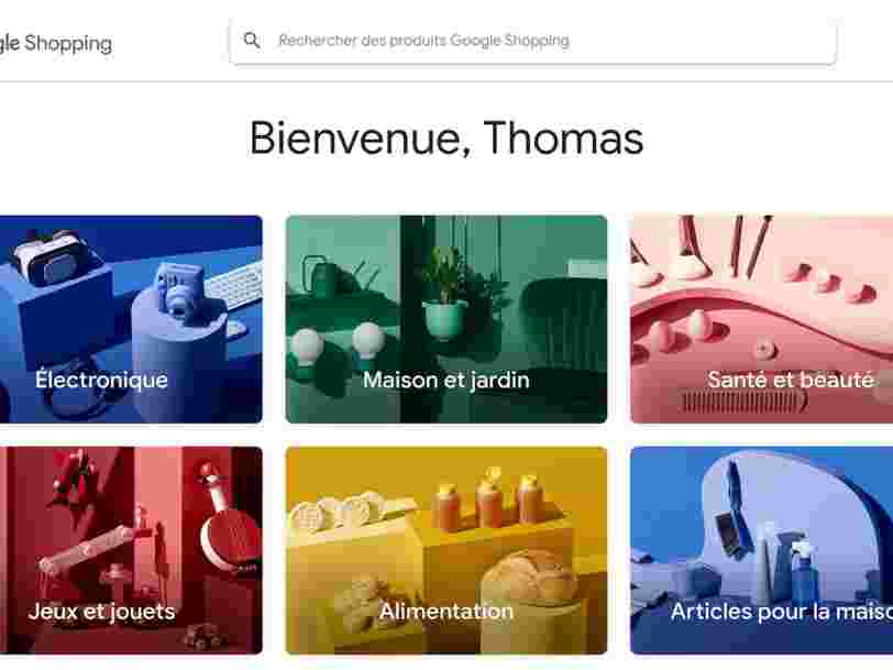 Google Shopping s'attaque à Amazon en France, voici comment le service fonctionne