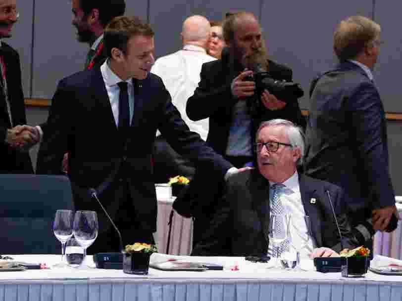 Le projet de taxer les géants du Net poussé par Emmanuel Macron va être discuté lors d'un dîner à Bruxelles ce soir — et le débat pourrait être houleux