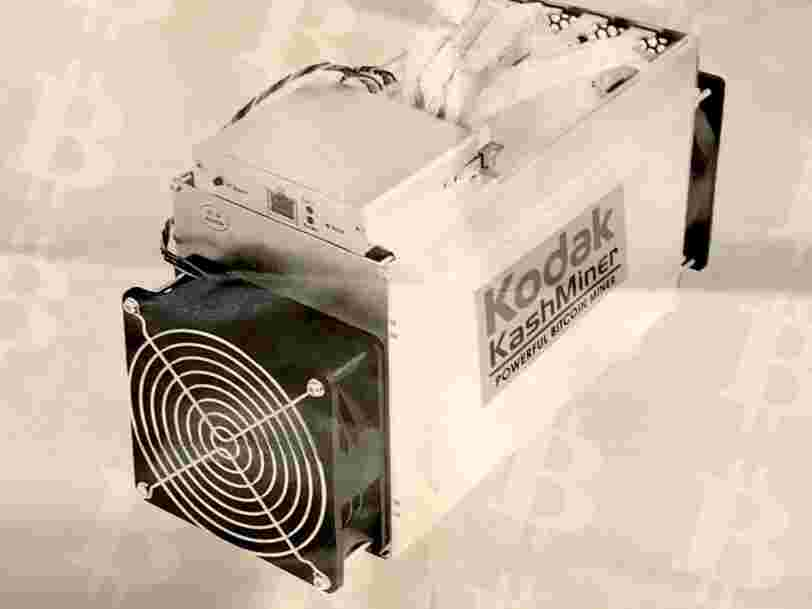 Vous pouvez désormais miner des bitcoins grâce à Kodak — mais il faudra reverser la moitié de vos gains