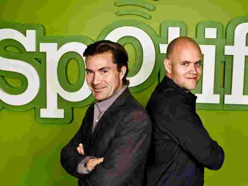 L'IPO de Spotify est une bonne nouvelle pour ces 8 personnes et investisseurs